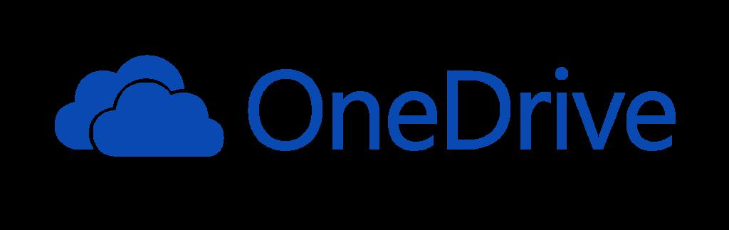 Logo Microsoft OneDrive cloud